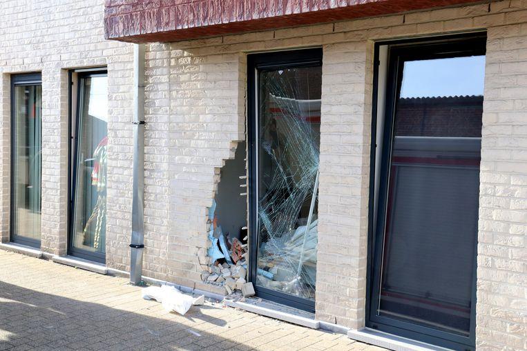 Het appartement geraakte zwaar beschadigd na het ongeval.