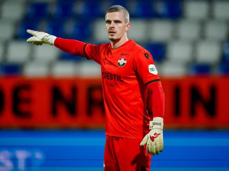 Willem II-keeper Brondeel: 'Voetbal is details, maar dit is heel zuur'