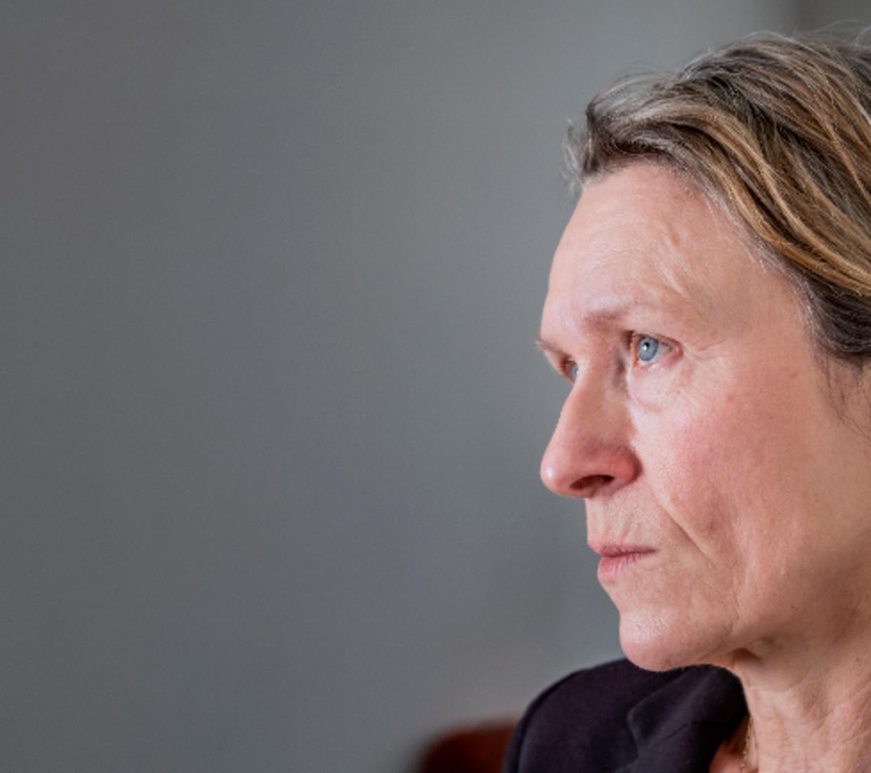 Arielle Veerman:  'Ik voel een onuitgesproken beschuldiging: dat ik medeplichtig ben aan zijn dood.'