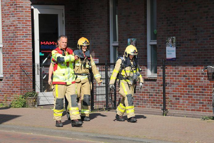 De brandweer gaf het gebouw na controles al weer snel vrij.