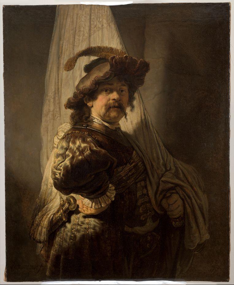 De Vaandeldrager van Rembrandt. Beeld Rijksmuseum