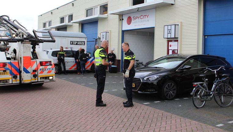 Politieonderzoek na de liquidatiepoging Beeld anp