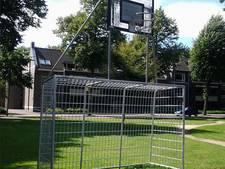 Goed nieuws voor de buurt: basketpalen op speelveld Vught komen terug