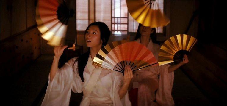 Zhang Ziyi in Memoirs of a geisha (Rob Marshall, 2005). Beeld