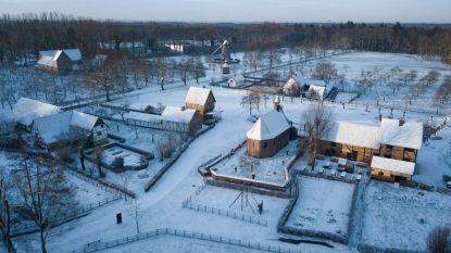 Winterwandelingen en restauraties in Openluchtmuseum Bokrijk