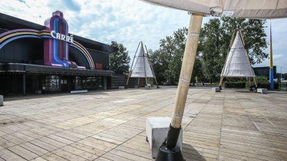 Carré bouwt terras met zwembad, maar dansen en zwemmen is verboden