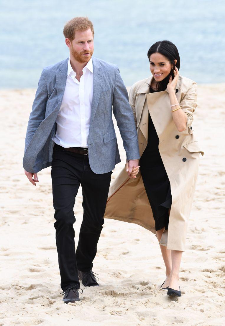 Harry en Meghan gaan vaak op reis.