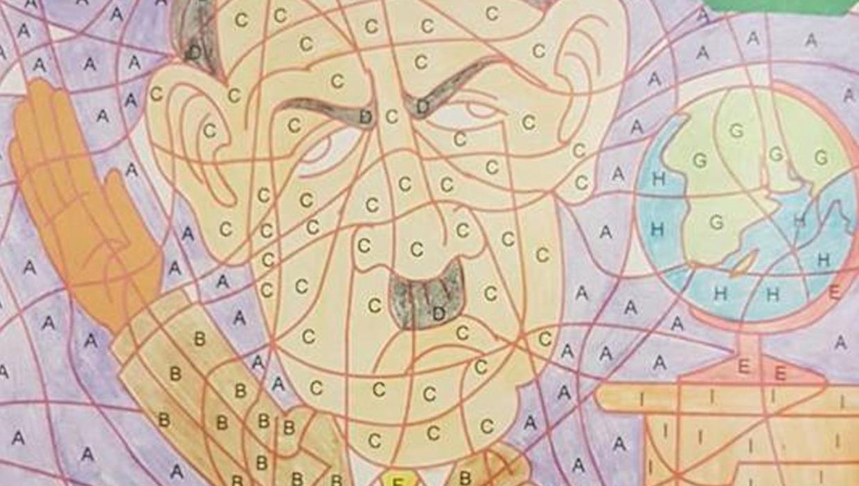 kruidvat verkocht kleurboek met adolf hitlerkleurplaat