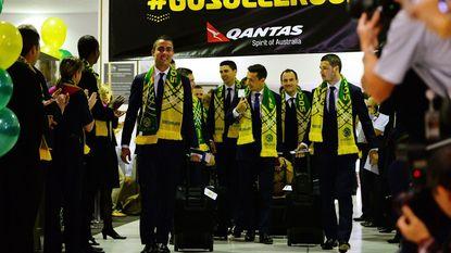 Uitgezwaaid Australië wil verrassen in Brazilië