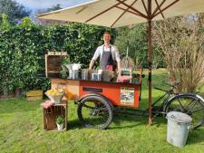 Na de koffiefiets is nu ook de fritesfiets in Houten weggestuurd: 'Oneerlijke concurrentie'