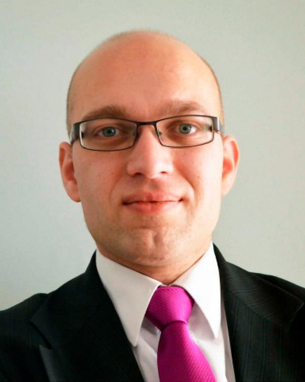 Voorzitter Alexander van Hattem van de PVV-frartie in Provinciale Staten