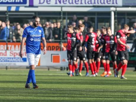 GVVV verspeelt duel met De Treffers voor rust
