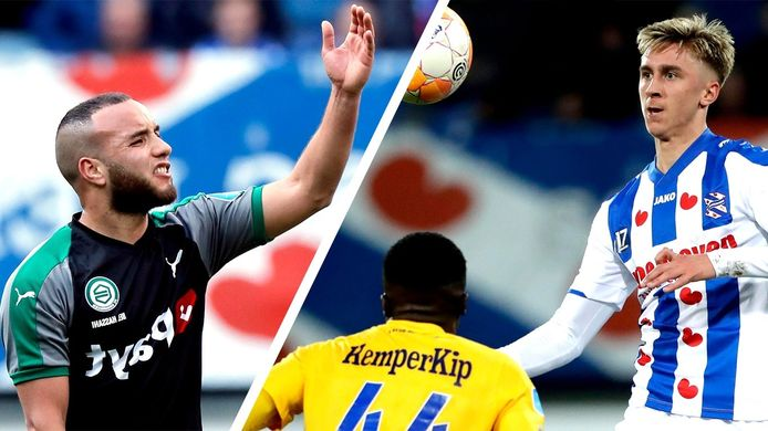 Iliass Bel Hassani speelt de komende twee seizoen voor PEC Zwolle, dat ook Dennis Johnsen - op huurbasis - gaat verwelkomen.