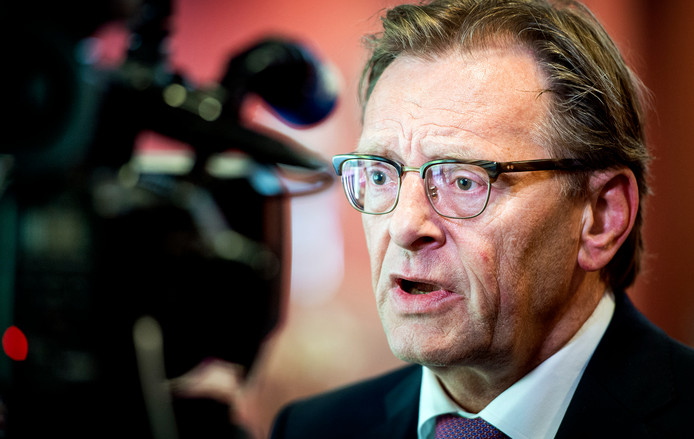 Burgemeester van Zeist Koos Janssen.