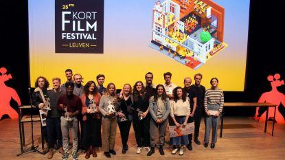 Jong talent valt in de prijzen op 25ste editie Kortfilmfestival Leuven