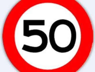 Snelheidsbeperking van 50 km/u op (meeste) gemeentewegen