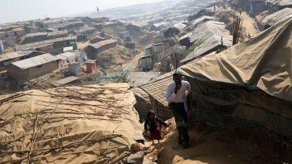 """""""Rohingya lopen gevaar door moessonregens"""""""