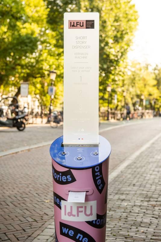 De verhalenmachine die tijdens het literatuurfestival in Utrecht komt.