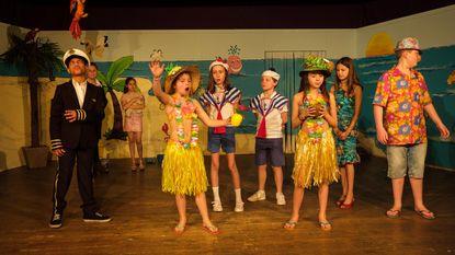 Leerlingen spelen musical 'Herrie op het eiland'