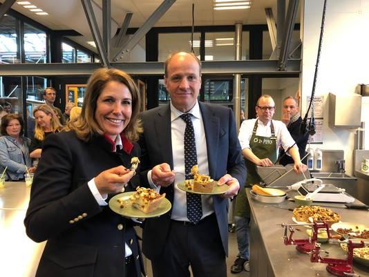 Frits van Eerd en Colette Cloosterman-van Eerd.