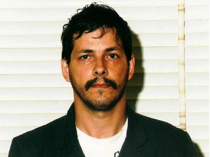Dutroux lors de son arrestation en 1996.
