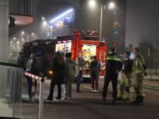 Flatgebouw Waldorpstraat korte tijd ontruimd vanwege brand