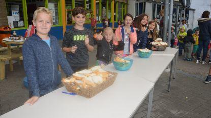 School trakteert leerlingen op boterham met 'eerlijke' choco