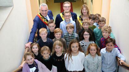 Nieuwe kindergemeenteraad succesvol aangesteld