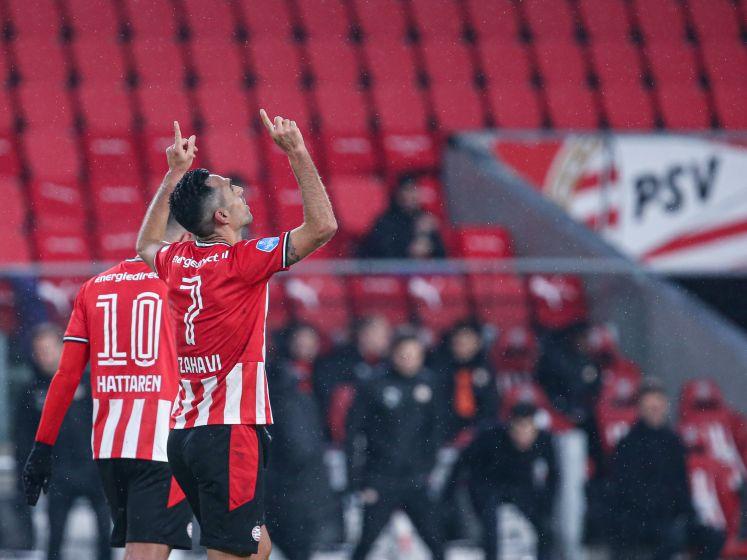 Samenvatting | Fraaie vrije trap Zahavi hoogtepunt tijdens thuiszege van PSV op RKC