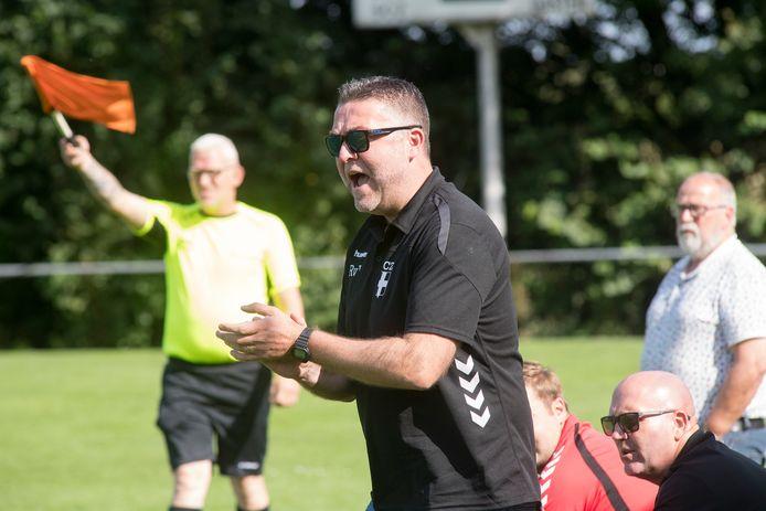 SCZ-coach Roland van Valburg vond dat zijn ploeg het goed deed tegen de bezoekers uit Opheusden.