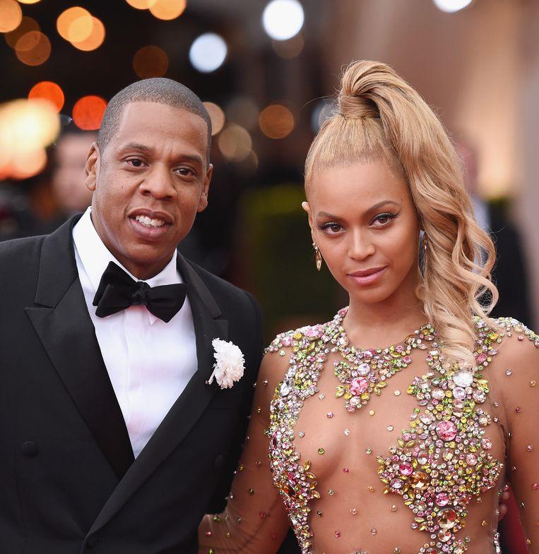 Jay Z en Beyoncé in 2015.