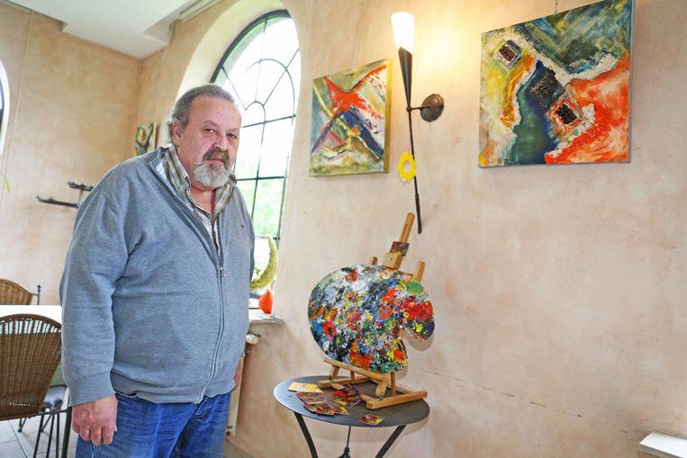 Leon Willems stelt nog tot volgende maand zijn werken tentoon in De Ijsbeer.