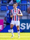 Jop van der Avert tijdens Willem II - Heracles.