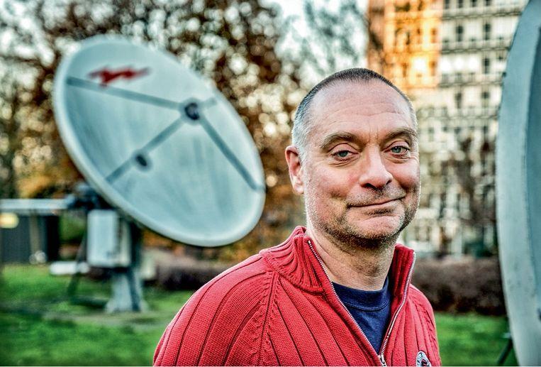Clem Robyns, eindredacteur bij Canvas: 'Als mijn kind een studie zou moeten kiezen, zou ik radio of televisie toch afraden.' Beeld Tim Dirven