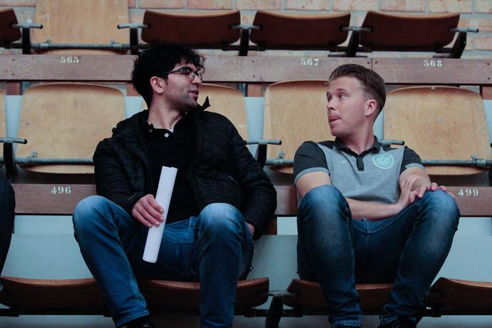 André Siereveld (rechts) wordt de nieuwe assistent-trainer bij Kloetinge.