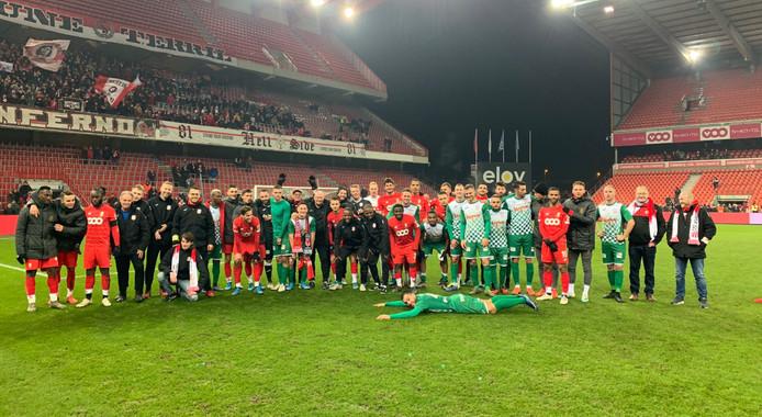 Les amateurs de Rebecq quittent la Coupe de Belgique la tête haute et remplie de souvenirs, après leur défaite au Standard (3-0).