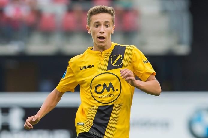 Jordan van der Gaag is de vijfde NAC-huurling bij Helmond Sport.