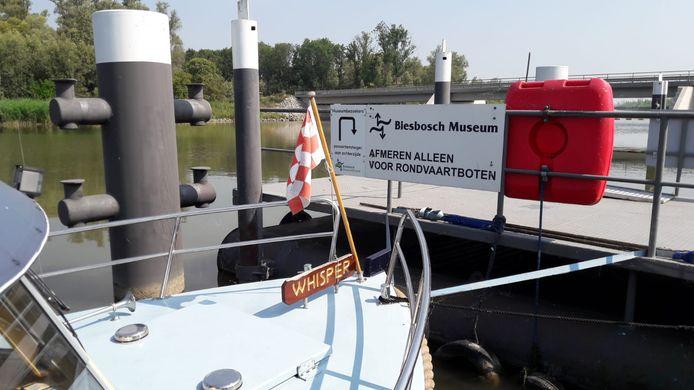 Het Werkendamse museum vanwege de coronamaatregelen de capaciteit van de rondvaartboten terugbrengen van 45 naar 20 personen.