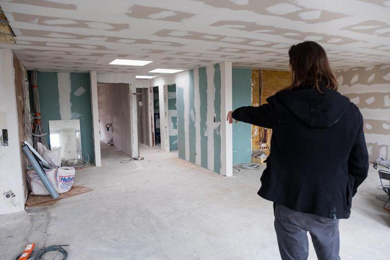 Dit is de staat waarin Y.T.'s appartement, waarvoor hij al 76.000 euro betaalde, zich bevindt.