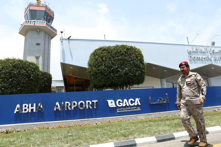 De drones waren gericht op de luchthaven van Abha.