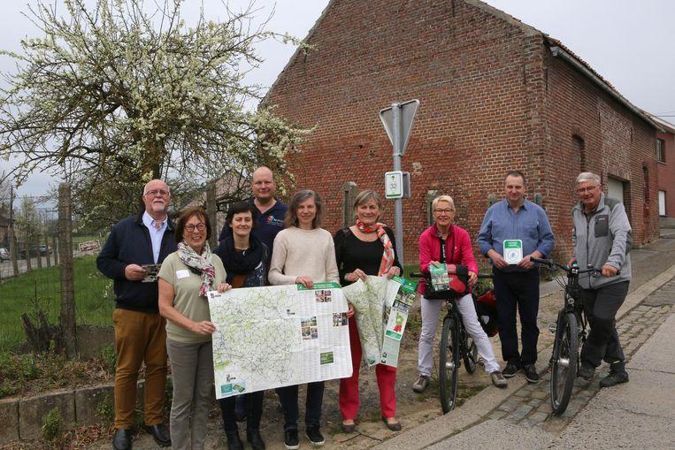 Toerisme Vlaams-Brabant testte de gloednieuwe fietskaart al uit.