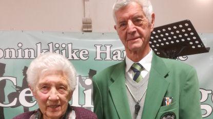 Jozef speelt 70 jaar trompet en Maria is 50 jaar bestuurslid bij Harmonie Sint-Cecilia in Zingem
