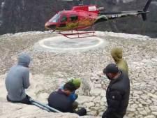 Les Belgian Tornados à la conquête de l'Everest: Jonathan Borlée malade et rapatrié en hélicoptère