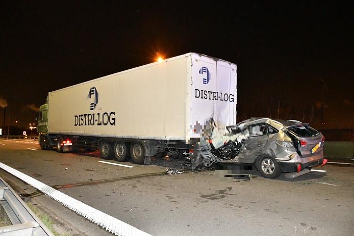 Man uit Bergen op Zoom overleden na ongeluk op snelweg bij Antwerpen.