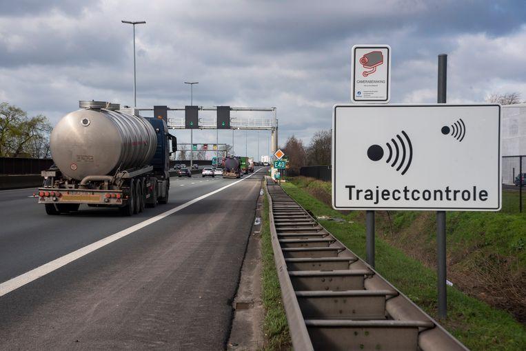 Komt er een nieuwe trajectcontrole op de E40 in Merelbeke?