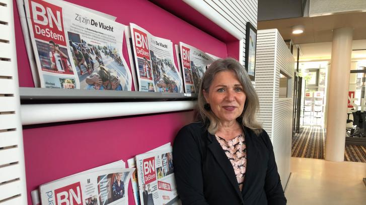 Zij brengt jou iedere dag het nieuws uit de gemeente Moerdijk: 'Ik maak er een feestje van'
