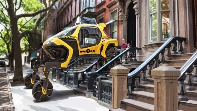Maak kennis met de Elevate, de auto met robotpoten
