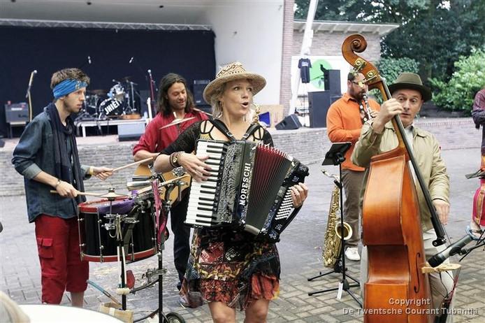 De formatie Balkanari treedt ook dit jaar weer op.
