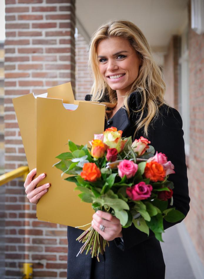 Nicolette van Dam  is ambassadeur van de Postcode Loterij
