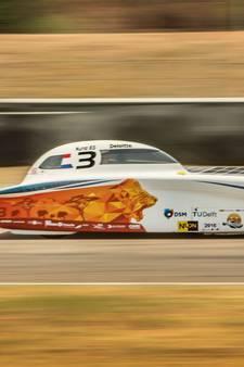 Zonne-auto gaat voor wereldrecord